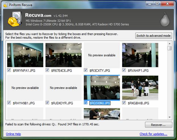 Recuva Tutorial - Step by step guide to use freeware recovering