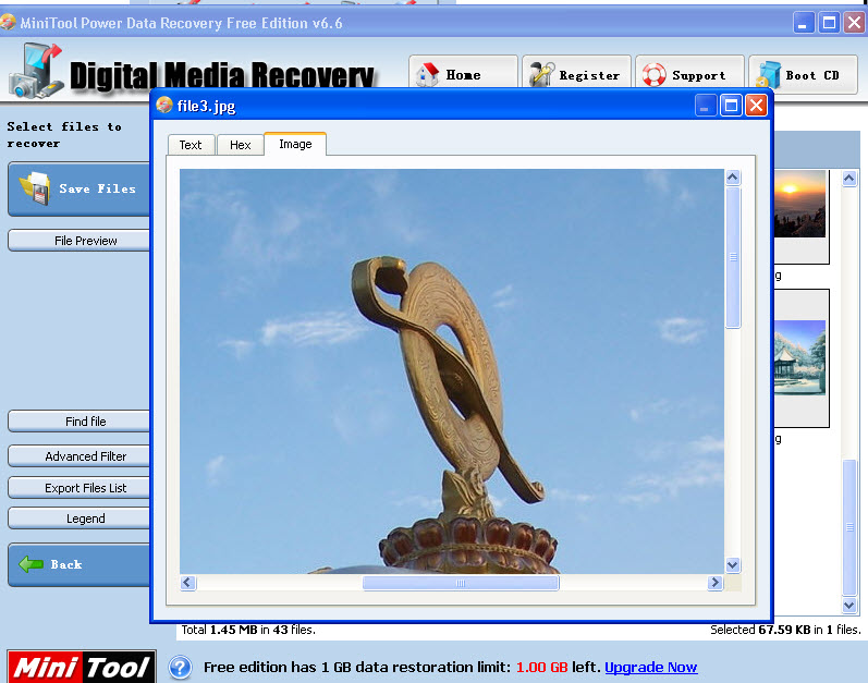 how to fix invalid image files after data recovery