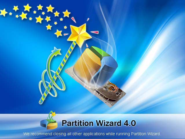 partition wizard server start